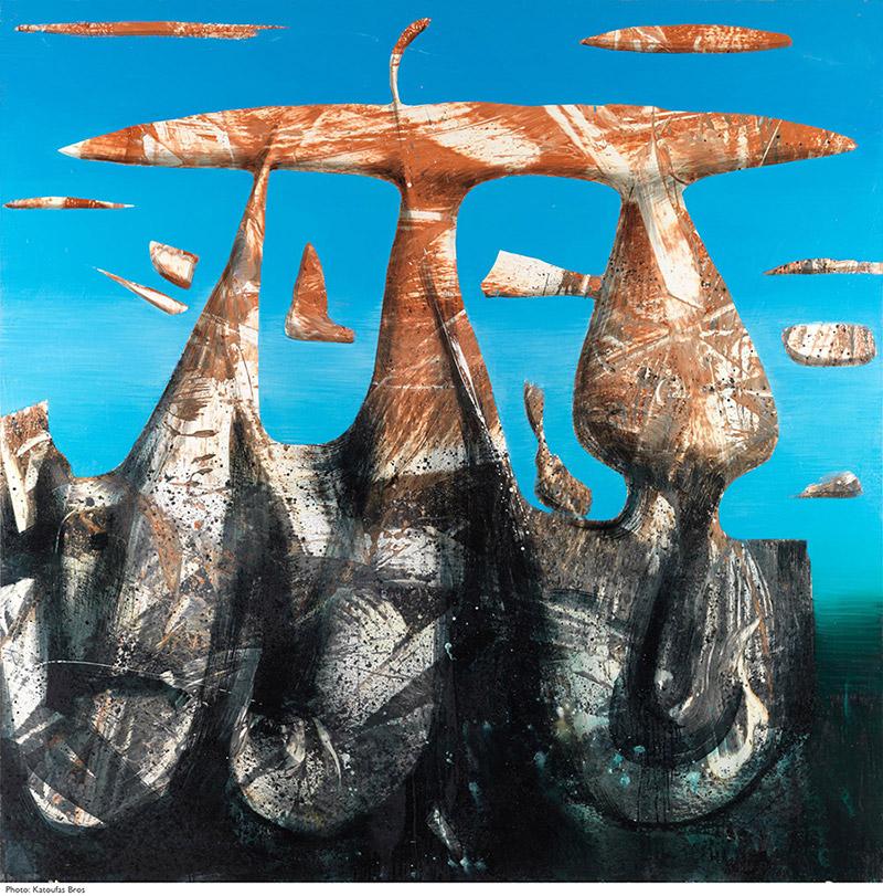 Evripides Art - Δελτίο Τύπου - Εγκαίνια έκθεσης: Βαγγέλης Ρήνας