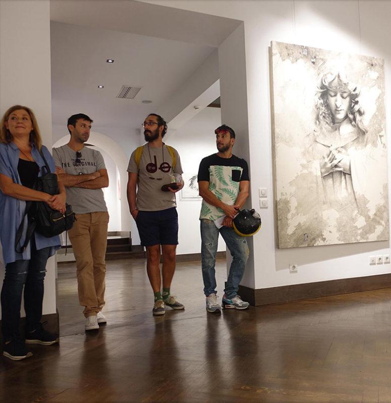 Evripides Art Gallery - Υπενθύμιση: 2η ξενάγηση 22/10/2016 - Βασίλης Γκούμας