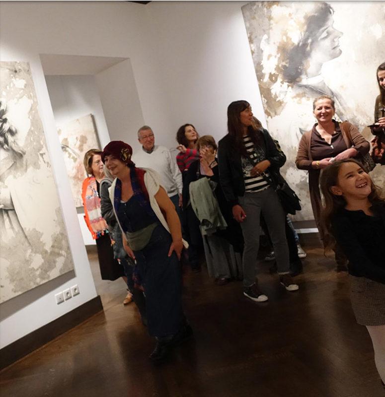 Evripides Art Gallery - 2η ξενάγηση 22/10/2016 - Βασίλης Γκούμας «somniatus ero»