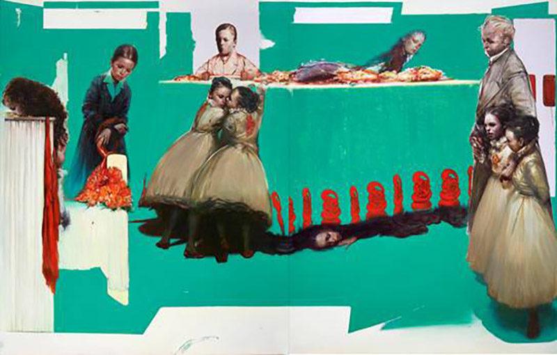 Evripides Art Gallery - Έκθεση Ζωγραφικής: Τάσος Μισούρας Fluid Frames