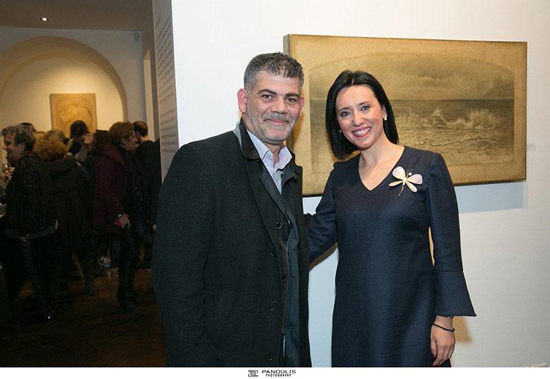 Evripides Art Gallery - Διπλά Εγκαίνια πραγματοποιήθηκαν στη Γκαλερί Ευριπίδη