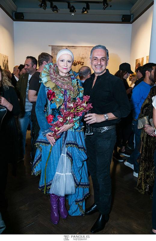 "Evripides Art Gallery - Εγκαίνια της έκθεσης ""Orlando"" του Ντάσιου και του Κύρη"