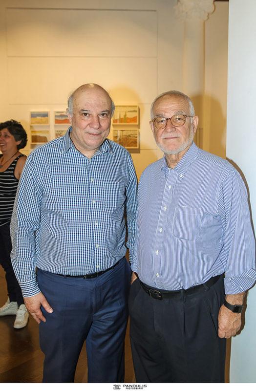 Evripides Art Gallery - Εγκαινιάσθηκε η έκθεση ζωγραφικής Σπύρος Κωτσαλάς «αναγωγή του βλέμματος»