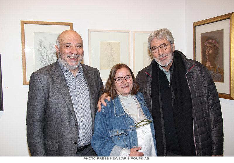 Evripides Art Gallery - Εγκαινιάσθηκε η έκθεση «Σε Κλίμακα Σχεδίου»