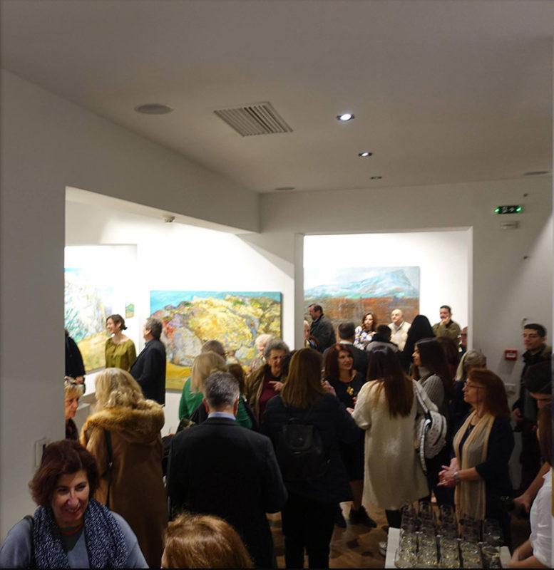 Evripides Art Gallery - Κοπή της Πρωτοχρονιάτικης πίτας 13/01/2018