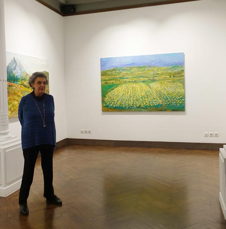 Evripides Art Gallery - Ξενάγηση στην έκθεση ζωγραφικής Μιχάλης Μαδένης «Διαδρομές»