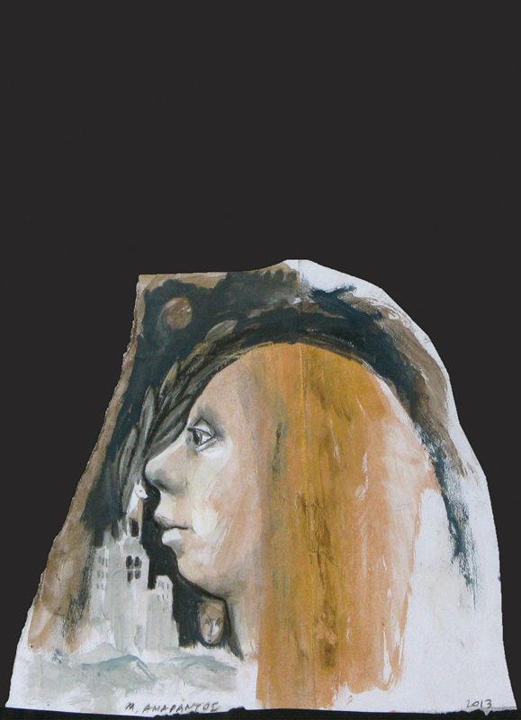 Evripides Art Gallery - Μιχάλης Αμάραντος «Θραύσματα Χαρτιού»