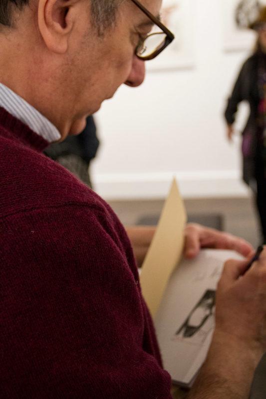 Evripides Art Gallery - Εγκαίνια - Μιχάλης Αμάραντος «Θραύσματα Χαρτιού»