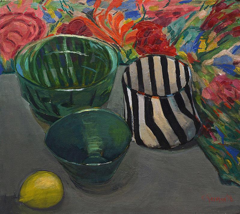 Evripides Art Gallery - Κατερίνα Γιάννακα Ζωγραφική–Κεραμική 2018