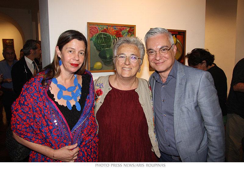 Evripides Art Gallery - Εγκαίνια - Κατερίνα Γιάννακα