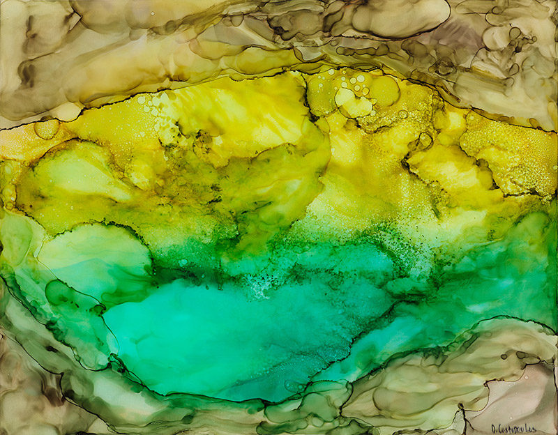 Evripides Art Gallery - Δάφνη Κωστοπούλου «Color Flows»