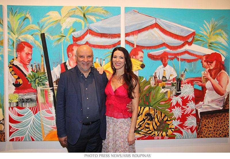 "Evripides Art Gallery - Εγκαίνια - Στέλλα Καπεζάνου ""Βrit Pond"""